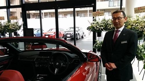 BMWの中村さん
